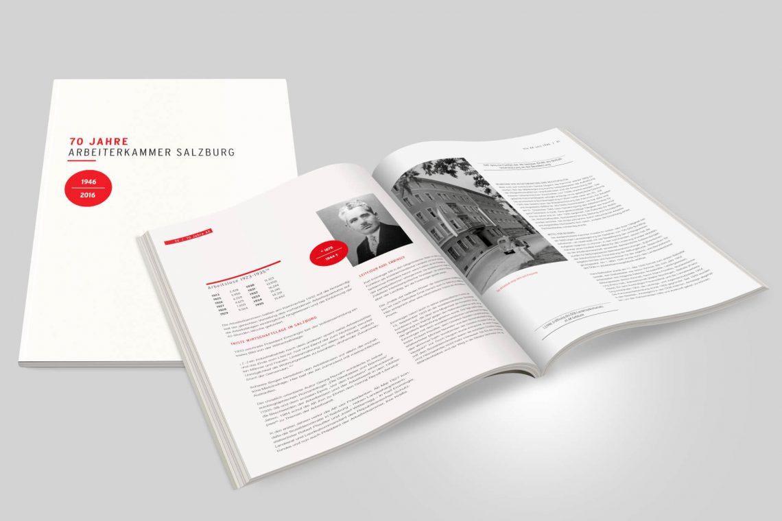Broschüre Magazin Festschrift